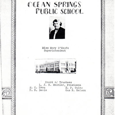 O.S. 1937 High School Year Book
