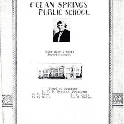 O.S. 1937 High School Year Book