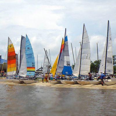 Sailboats at OS Yacht Club